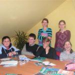 młodzież na zajęciach z kultury angielskiej