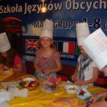 Gotowanie i nauczanie, zabawa z angielskim