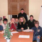 Młodzież w wieku szkolnym na angielskim